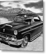 1953 Mercury Monterey On Bonneville Metal Print by Peter Piatt