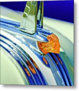 1953 Pontiac Hood Ornament 5 Metal Print
