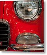 1955 Chevy Bel Air Headlight Metal Print