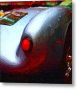 1955 Porsche 550 Rs Spyder . Painterly Style Metal Print