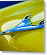 1956 Chevrolet Hood Ornament Metal Print