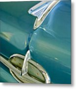 1957 Oldsmobile Hood Ornament 5 Metal Print