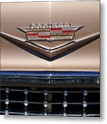 1958 Cadillac Eldorado Barritz Emblem Metal Print