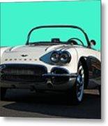 1962 Corvette Metal Print