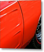 1969 Dodge Charger Rt Metal Print
