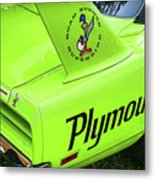 1970 Plymouth Superbird Metal Print