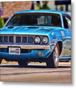 1971 Plymouth 'cuda 383 Metal Print