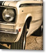 1971 Plymouth Duster 340 Four Barrel Metal Print