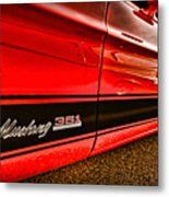 1973 Ford Mustang Mach 1 351 High Performance Metal Print