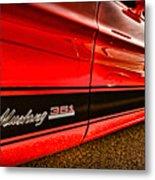 1973 Ford Mustang Mach 1 351 High Performance Metal Print