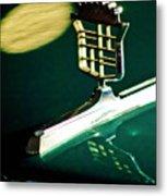 1976 Cadillac Fleetwood Hood Ornament Metal Print