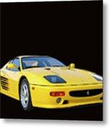 1995 Ferrari F512m Metal Print