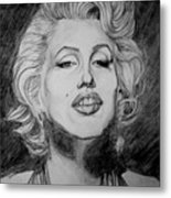 Marylin Monroe Metal Print