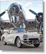 1962 Chevrolet Corvette Metal Print