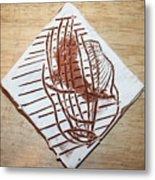 Adrift - Tile Metal Print