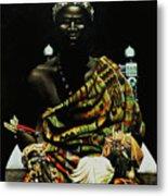African Prince Metal Print