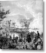 Battle Of Gettysburg Metal Print by War Is Hell Store