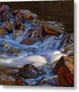 Bear Creek Waterfalls Metal Print