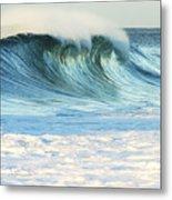 Beautiful Wave Breaking Metal Print