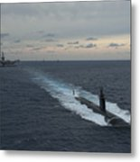 Carrier Strike Group Formation Of Ships Metal Print