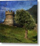 Castle Metal Print by Joana Kruse
