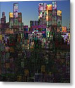 City Sunrise  Metal Print
