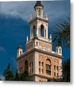 Coral Gables Biltmore Hotel Tower Metal Print