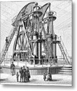 Corliss Steam Engine, 1876 Metal Print
