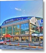 First Niagara Center Metal Print