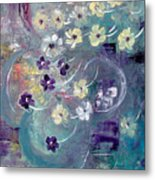 Flowers And Dreams 5 Metal Print