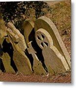 Grave Stones Metal Print