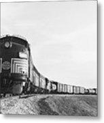 Historic Freight Train Metal Print