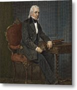 James Knox Polk (1795-1849) Metal Print