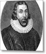 John Winthrop (1588-1649) Metal Print