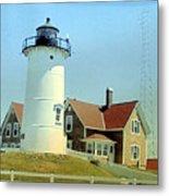 Nobska Point Lighthouse Metal Print