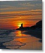Seagrove Beach Metal Print