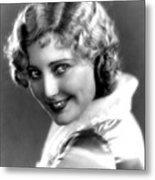 Thelma Todd, Portrait Ca. 1935 Metal Print
