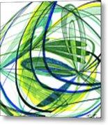 2007 Abstract Drawing 4 Metal Print