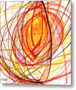 2007 Abstract Drawing 8 Metal Print