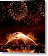 2008 Fireworks 4 Metal Print