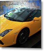 2011 Lamborghini Gallardo Lp560-4 Bicolore 2 Metal Print