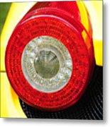 2012 Ferrari 458 Spider Brake Light Metal Print