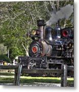 267 - Roaring Camp Train No 7 Hdr Metal Print