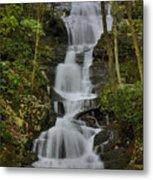 Buttermilk Falls Metal Print by Stephen  Vecchiotti