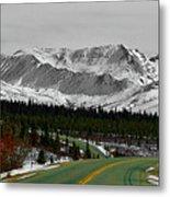 Denali Park - Alaska Metal Print