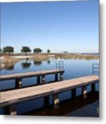 East Lake Toho In Florida Metal Print