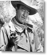 John Wayne (1907-1979) Metal Print