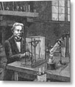 Michael Faraday (1791-1867) Metal Print