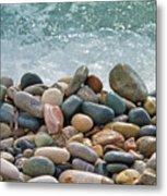 Ocean Stones Metal Print by Stelios Kleanthous