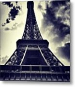 #paris Metal Print by Ritchie Garrod
